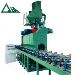 QGW Steel Tube ແລະທໍ່ Shot Blasting Machines