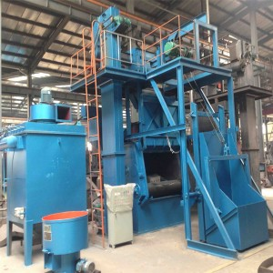 AUTO FEEDING SANDBLASTING EQUIPMENT