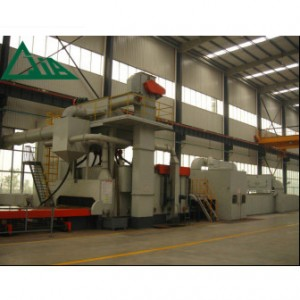 QXY Steel Plate Pretreatment Line na may pre-heating, Blasting, Painting and Drying