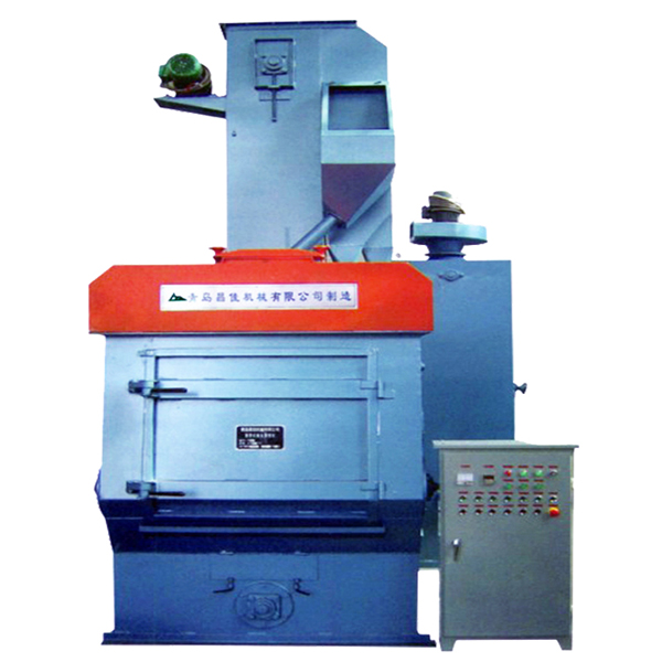 Q326EA Tumble belt shot blasting machines Featured Image