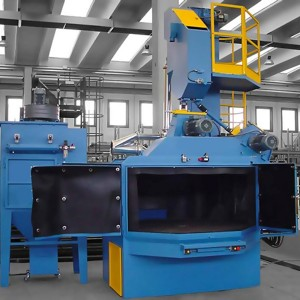 Q35 Rotary table abrasive blasting equipment supplies