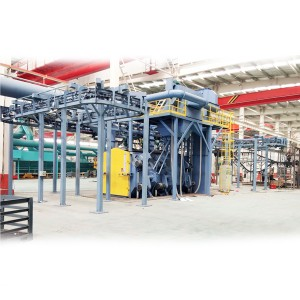 Q58 Accumulative catenary sand blast machines