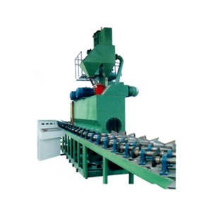 QGW Pipe sandblasting equipment