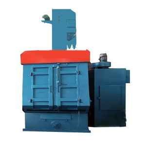 QR3210 Track type shot blasting equipment