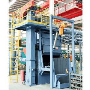 QR3210A Automatic loading and unloading  shot blasting equipment for sales
