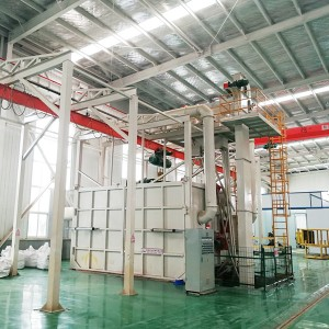 QT37 Spinner hanger shotblasting machines