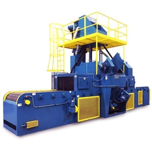 QWD Portable Wire mesh belt sand blaster for sale