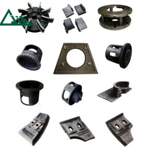 Spare parts of shot blasting machine